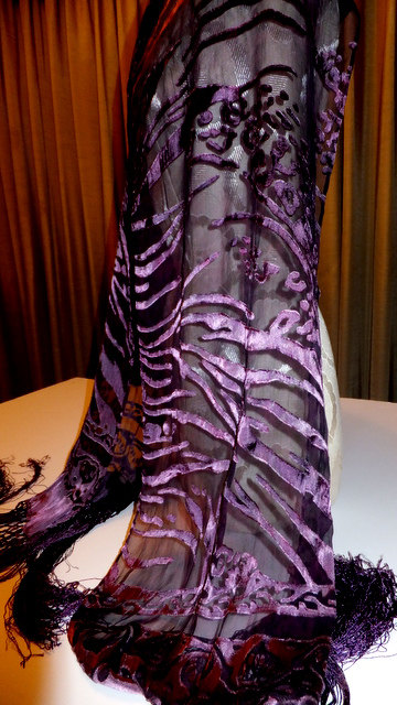Eggplant Shawl